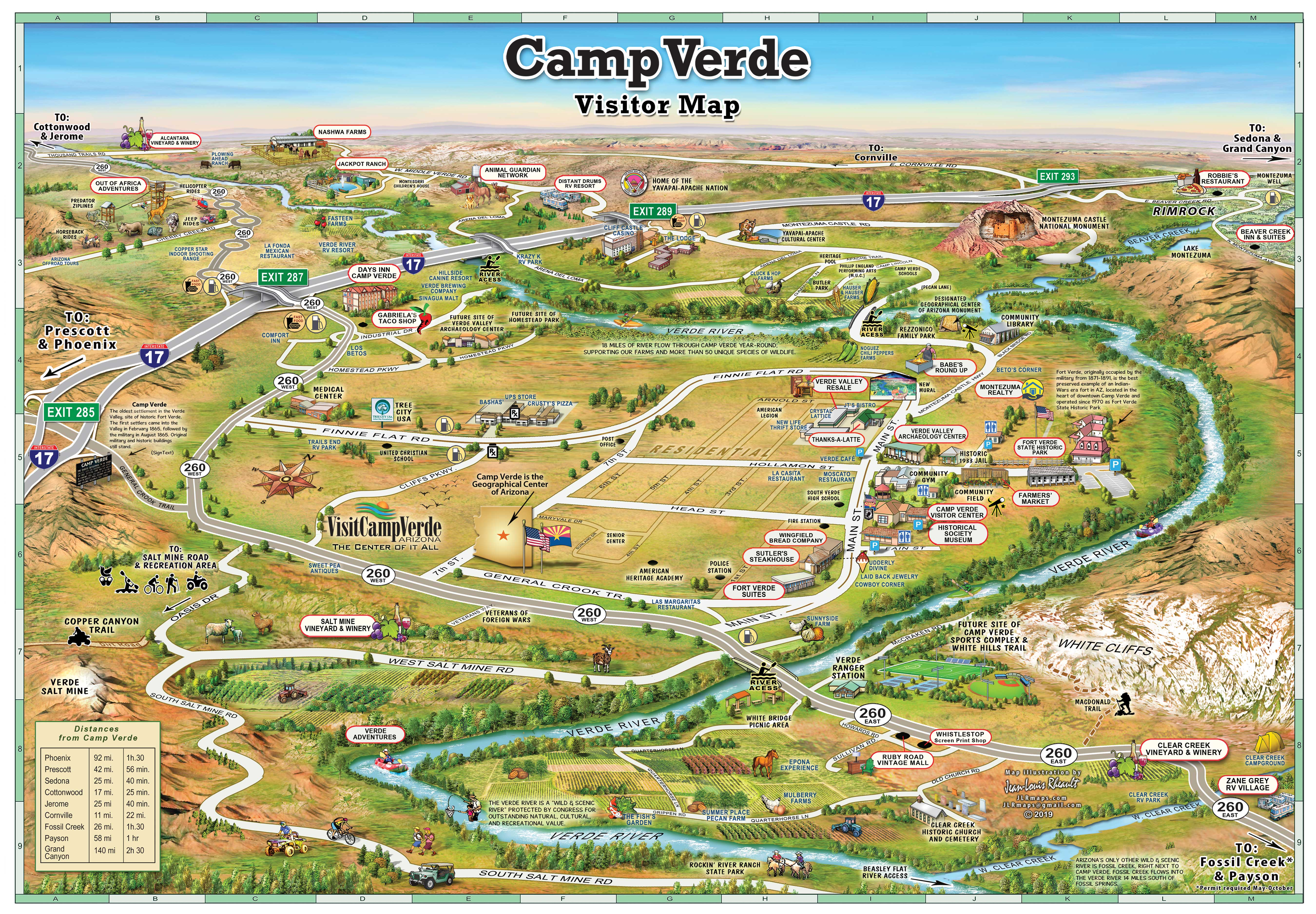 Camp Verde Map